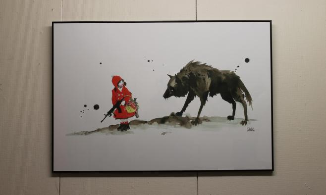 Lora Zombie Red Riding Hood