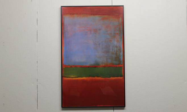 Mark Rothko Violet Green and Red